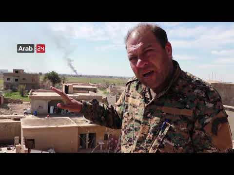 Syria | Violent Battles Continue Between Syrian Democratic Forces And ISIS In Baghouz