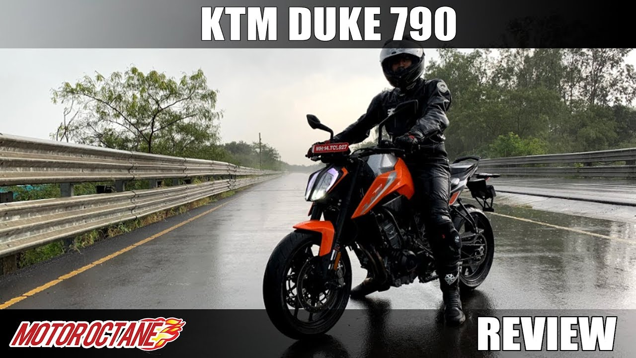 Motoroctane Youtube Video - KTM Duke 790 Review | Hindi | MotorOctane