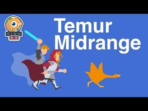 Fish Five-0: Temur Midrange (Standard, Magic Arena)