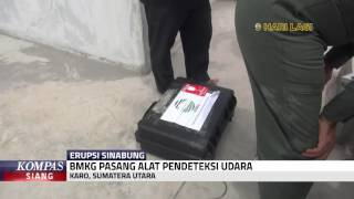 BMKG Pasang Alat Pendeteksi Udara