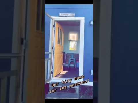 Video Of Peace and Carrots Farm Bluebird Tiny Home, NY