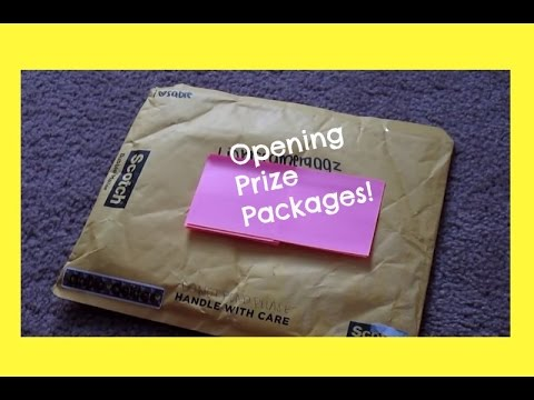 Opening My Prizes From ilovesabie & AGpals!