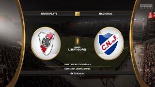 River plate vs Nacional | Conmebol Libertadores | GAMEPLAY