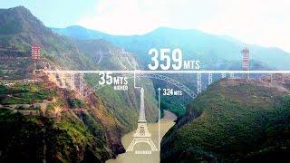 Construction of World's Highest Railway Bridge!! Chenab River Bridge (Kashmir)! AFCONS' Documentary! | Kholo.pk