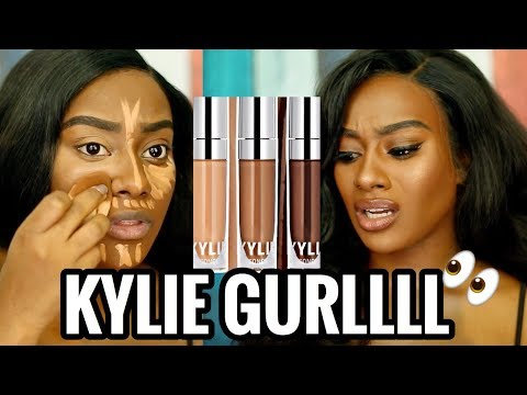 BRUTALLY HONEST REVIEW: Kylie Cosmetics Skin Concealer MORENITA FRIENDLY OR NAH?