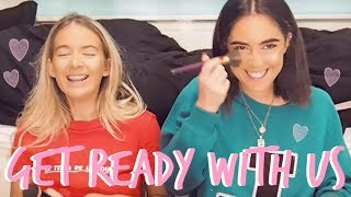Gambar cover GET READY WITH US! | NIGHT OUT! | Sophia and Cinzia