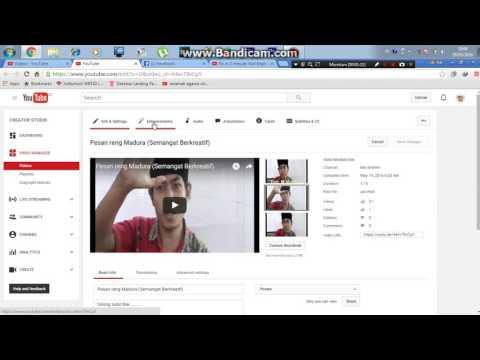 Video Cara Mengatasi Video tidak bisa dimonetisasi (Video not eligible for monitization) 2016