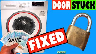 Bosch Washing Machine Door Stuck and How to Open it