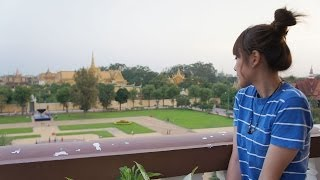 preview picture of video '#35 The first night in Phnom Penh - Halo~Konnichiwa'