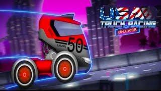 Usa Truck Racing Simulator - Android Gameplay ᴴᴰ