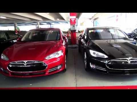 2015 Tesla Model S85 drive to Tesla Dadeland