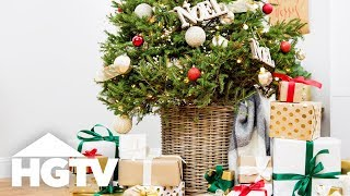 5 DIY Tree Skirt Alternatives - HGTV