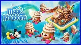 KAKAMORA BOAT! MOANA Limited Time Event   Disney Magic Kingdoms Gameplay