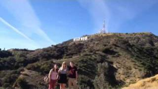 Hollywood sign missile explosion