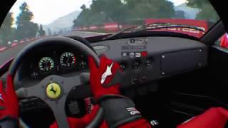 GT Sport VR - Ferrari F40 @ Showroom & Autodrome Lago Maggiore