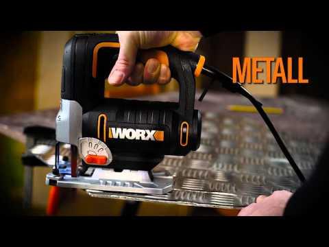 WORX WX479 750W Stichsäge - Deutsch - www.worx.com