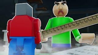 BALDI'S BASICS DEATHRUN? - Brick Rigs Multiplayer Gameplay - Lego deathrun challenge