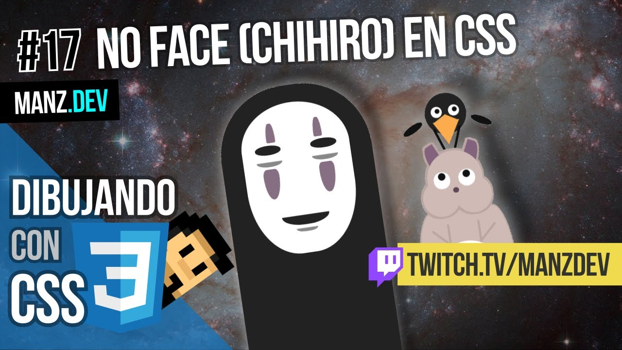 Dibujando No face (Chihiro) con CSS