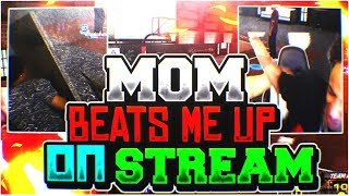 MY MOM BEATS ME UP ON LIVESTREAM  MOST EMBRASSING MOMENT EVER NBA 2K18