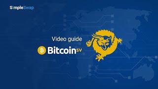 How to buy Bitcoin SV on SimpleSwap | Exchange Bitcoin to Bitcoin SV
