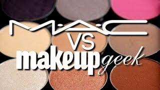 MAC vs Makeup Geek Eyeshadow SMACKDOWN | Makeup Geek
