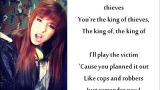Christina Grimmie - King Of Thieves (lyrics)