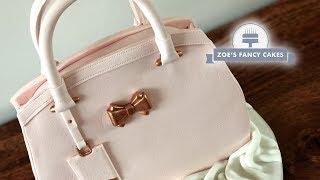 Handbag Cake Tutorial