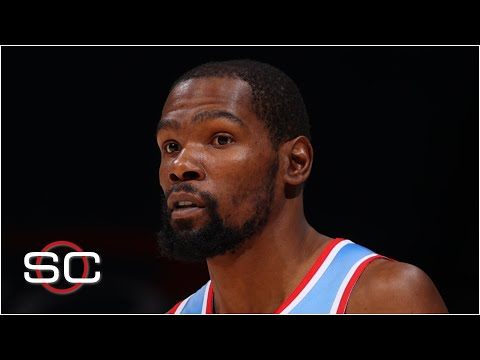 Kevin Durant will miss at least two games due to a hamstring injury | SportsCenter