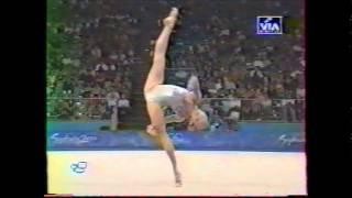 Danielle LERAY (AUS) rope - 2000 Sydney Olympics qualifs