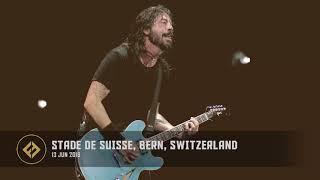 Foo Fighters - Stade de Suisse, Bern, Switzerland (13/06/2018)