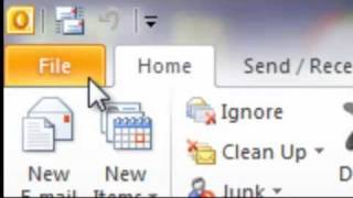 How to Setup and Run Auto Archive Outlook 2010