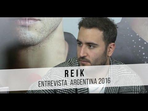Reik video Des / Amor | Entrevista CM - Argentina 30|06|2016