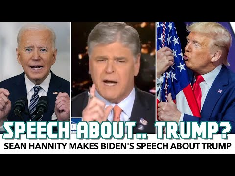Sean Hannity Just Can't Quit Trump