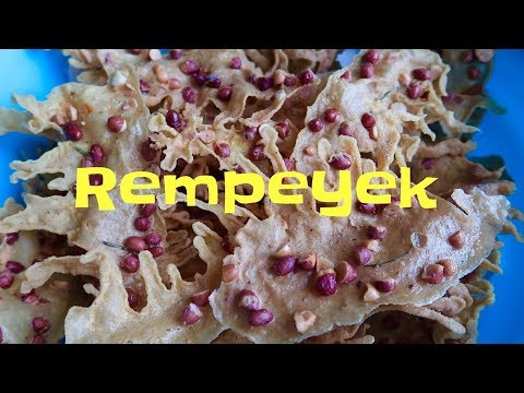 Resep dan Cara Buat Rempeyek Kacang Renyah (Peyek)