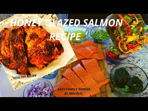 , title : 'How to make easy honey glazed salmon/ new recipe/ EASY DINNER 😋