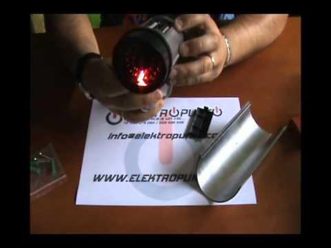 Cámara falsa compacta con led indicador, cámara simulada, cámara disuasoria CS809