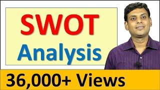 25. SWOT Analysis in Marketing / Management by Prof Vijay Prakash Anand