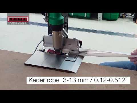 Plastic Welding Machine Hemtek K-ST Leister