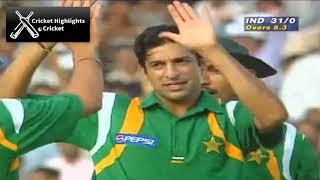 India vs Pakistan Classic Match at Sharjah 1997