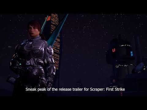 Scraper: First Strike - Sneak Peak of the release trailer out later this week! thumbnail