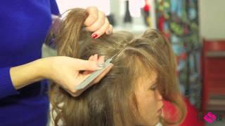 Обучение для парикмахеров. Окрашивание волос Видео-урок RED QUEEN.  Обучение для парикмахеров.