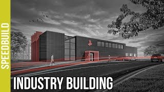Archicad Speedbuild + Photoshop Post Production - Industry Building