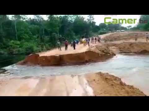 Travaux routiers : Douala coupé de Yabassi