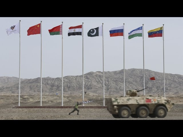 """#LIVE: Watch the""""Clear Sky""""contestatthe InternationalArmyGames"""