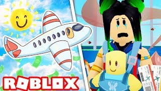 The WORST family vacation ever! Roblox Vacation Story!