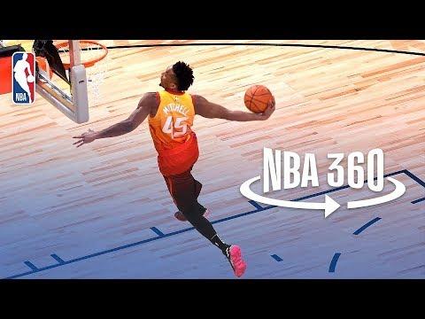 NBA 360: Donovan Mitchell Wins 2018 Verizon Slam Dunk