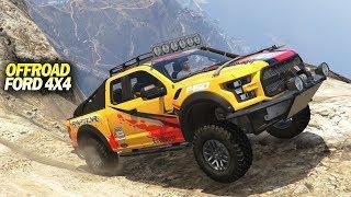 Offroad Ford Raptor 4x4 Ke Gunung Tertinggi #gta5