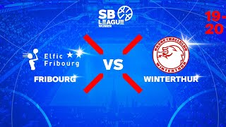 SB League Women - Day 4: FRIBOURG vs. WINTERTHUR
