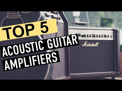 BEST 5: Acoustic Guitar Amplifiers 2019