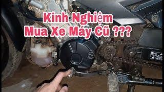 Cách chọn mua xe máy cũ / kinh nghiệm mua xe máy cũ giá tốt chất lượng